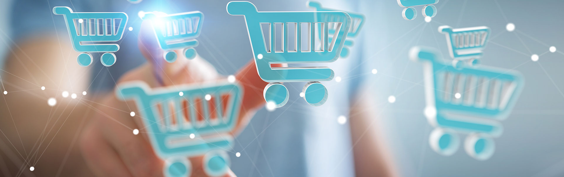 We have a variety of e-commerce solutions for your business.
